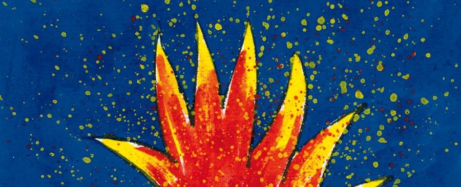 Flammenpalme